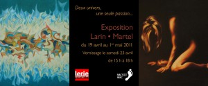 Invitation - Exposition Larin - Martel