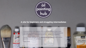 The Oil Painting Hub home page