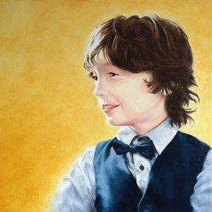 Nouveau tableau : Isaac